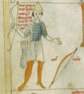 Arciere Latino Latin 7330, fol. 12, Zodiaque  décan des Gémeaux