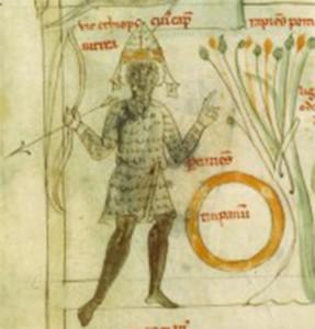 Arciere Moro Latin 7330, fol. 12, Zodiaque  décan des Gémeaux