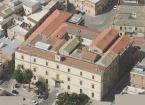 Il tribunale di Lucera visto dall'alto
