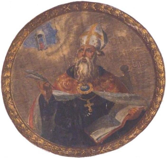 Tavola di S. Agostino d'Ippona (Chiesa di S. Gregorio Papa - Palermo)