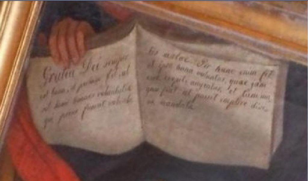Il codice dipinto nella tela